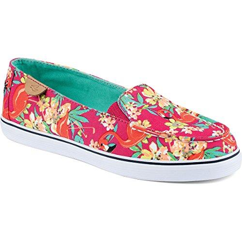 Sperry Top-Sider Zuma Hot Pink Floral Sneaker (7.5)