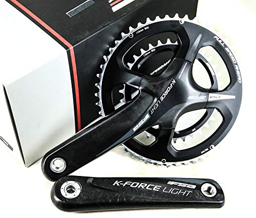 FSA K-Force Light 386 Evo 11 Speed 50/34T Road Bike Carbon Crankset 175mm New