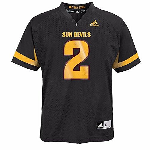 Arizona State Sun Devils NCAA Adidas Black Official 3rd Alternate #2 Replica Football Jersey For Youth (XL) (Devils Ncaa Sun Applique)
