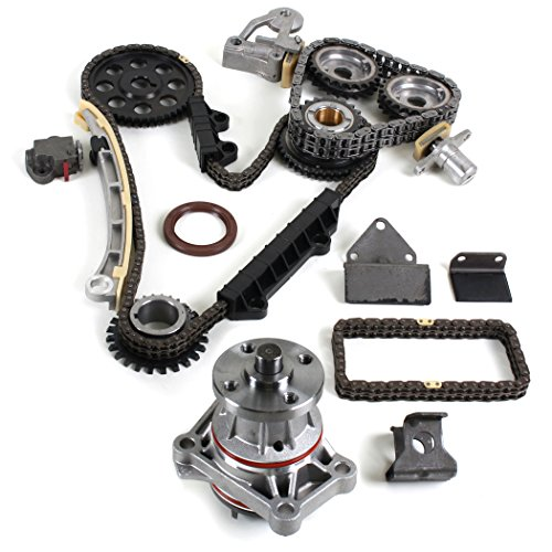 CNS TK9090WP Timing Chain Kit & Water Pump Set for 99-05 Suzuki 2.5L 2.7L Grand Vitara XL-7 / Chevrolet Tracker H25A H27A Engine