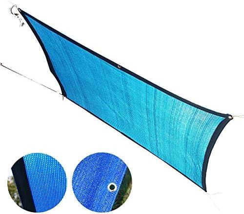 LIANGLIANG オーニングシェード遮光ネット 温室 植物 多肉植物 シェーディング 日焼け止め しっかり織り ストレッチ耐性、 青い、 ポリエチレン (Color : Blue, Size : 4x9m)