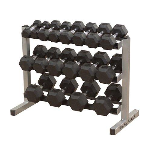 Body-Solid Three-Tier Horizontal Dumbbell Rack (GDR363)