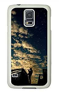Rooftop Boy PC White Hard Case Cover Skin For Samsung Galaxy S5 I9600