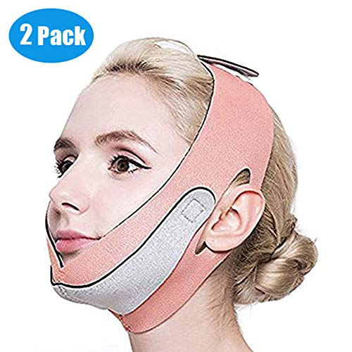 2pcs Anti Wrinkle Half Face Slimming Cheek Mask Lift for sale  Delivered anywhere in USA