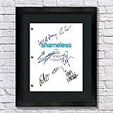 Shameless TV Autographed Signed Reprint 8.5x11 Script 13x15 Framed William H Macey, Emmy Rossum, Ethan Cutkosky, Frank Fiona Gallagher