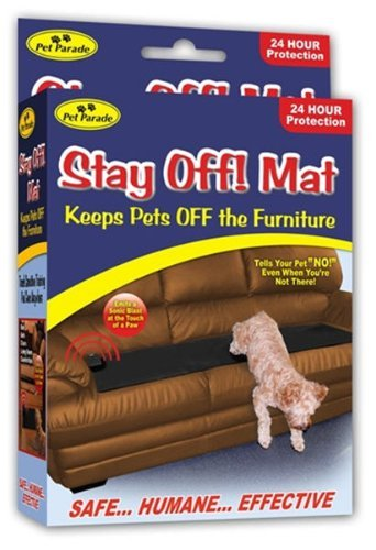 (SONIC REPELLENT STAY OFF MAT FOR DOGS AND CATS)