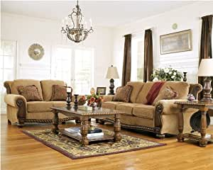 Amber Sofa, Loveseat, Chair, and Ottoman Set
