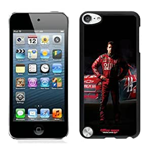 Unique And Antiskid Designed Cover Case For iPod 5 With tony stewart Black Phone Case