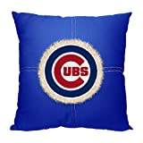 """The Northwest Company MLB Chicago Cubs Letterman Pillow, 18"""" x 18"""""""