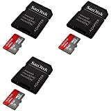 3 x Quantity of Walkera QR X350 PRO FPV Ultra 8GB UHI-I/Class 10 Micro SDHC Memory Card Up To 48MB/s With Adapter- SDSDQUAN-008G-G4A [Newest Version] S - FAST FROM Orlando, Florida USA!