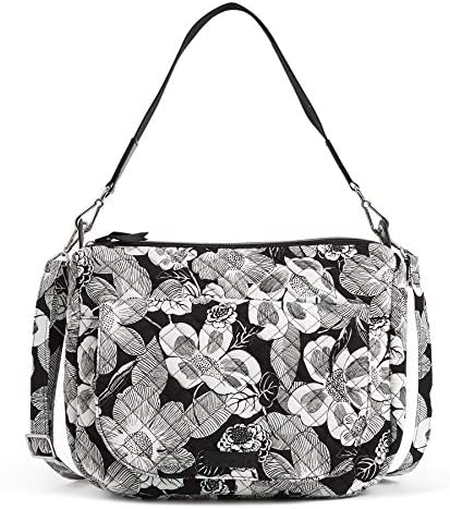 Vera Bradley Women's Signature Cotton Carson Shoulder Bag Crossbody Purse