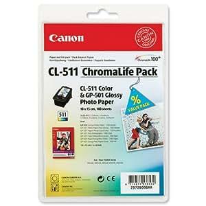 Canon CL-511 + GP-501 - Cartucho de tinta