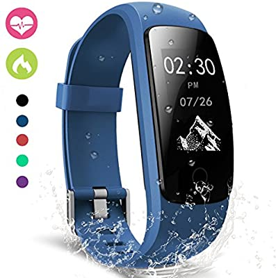 Pulsera Actividad,moreFit Slim Touch Pulsera Inteligente,Smart Bracelet Tracker con Monitor de Ritmo