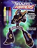 Transformers Animated: Coloring and Activity Book and Crayons