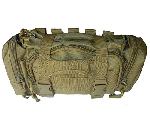 Tactical Butt Pack - Rapid Response Bag, MOLLE Compatible (Coyote)