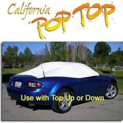 - C12 - California PopTop Interior Cover compatible with Mazda Miata 2006-2019 or Chrysler Crossfire Roadster. Use with Top UP or Down
