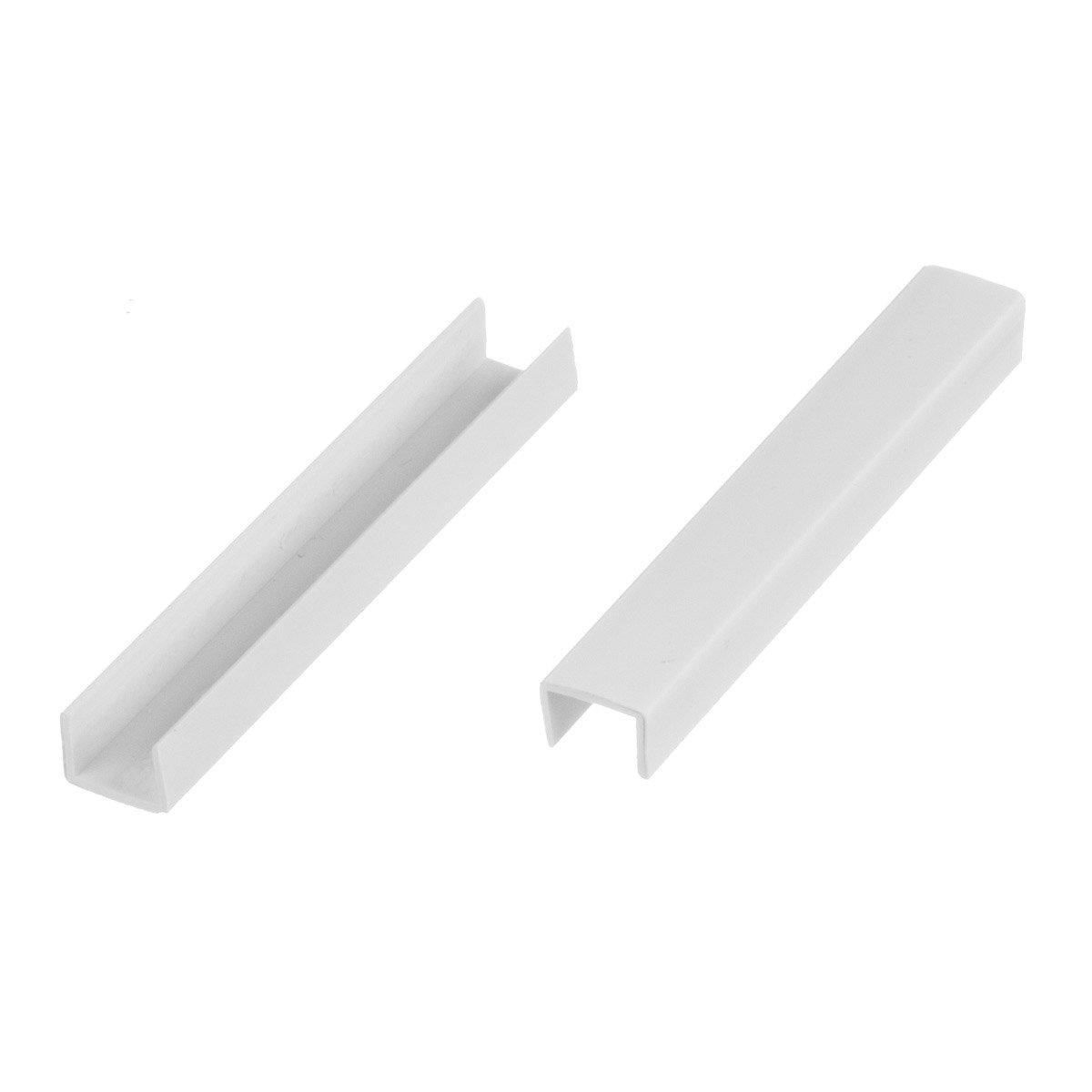 HOLZBRINK Esquina para el Montaje del Z/ócalo para Cocina de M/ódulos Altura 150 mm aluminio cepillado HBK15
