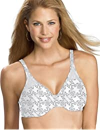 Bali Passion for Comfort Minimizer Underwire Bra_Silver Lace_38C