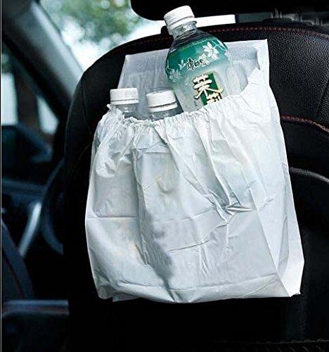 AICase 30Pcs Car Garbage Bag PVC Waterproof Leakproof Disposable Auto Trash Can Bag for Litter Large Capacity Leak-Proof Portable Convenient 4350404624