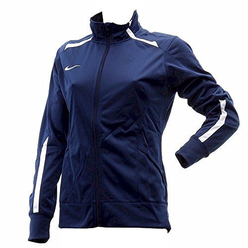 Nike Womens Overtime Long Sleeve Navy Training Jacket Sz: S