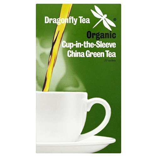 ((2 Pack) - Dragonfly Tea - Emerald Mountain Org Green Tea | 20 sachet | 2 PACK)