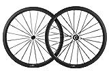 Sunrise Bike Cheap Bicycle Road Racing Wheels 700c Carbon Tubular Wheelset with 38mm