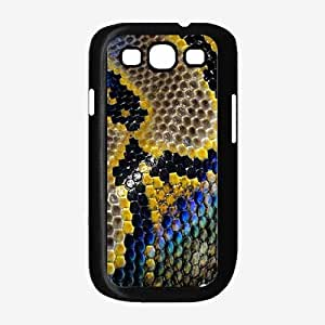 Colorful Snakeskin- Plastic Phone Case Back Cover Samsung Galaxy S3 I9300