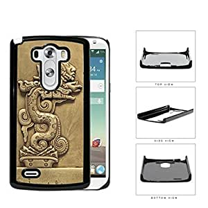 Beast Devours Man Mayan Clay Sculpture Hard Plastic Snap On Cell Phone Case LG G3