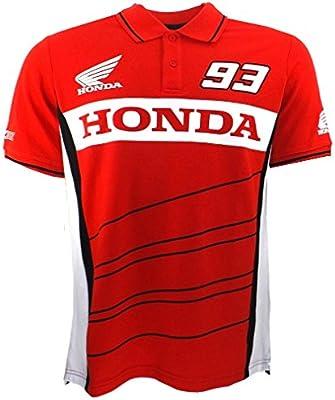 Marc Marquez 93 Dual Honda Moto GP Polo camisa roja oficial Nuevo: Amazon.es: Deportes y aire libre