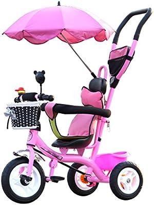 BZEI-BIKE Carritos para niños Triciclo Carruajes para bebés ...