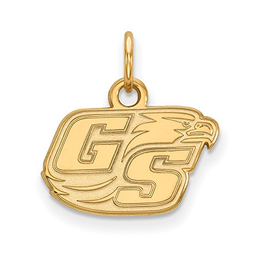 Georgia Southern Univeristy Extra Small (3/8 Inch) Pendant (14k Yellow Gold) ()