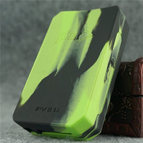 Silicone Case for IPV 3 Li Cover Skin Wrap Sleeve IPV3Li IPV3 Li (green/black)