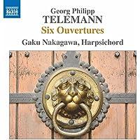 Telemann Six Overtures For Harpsichord