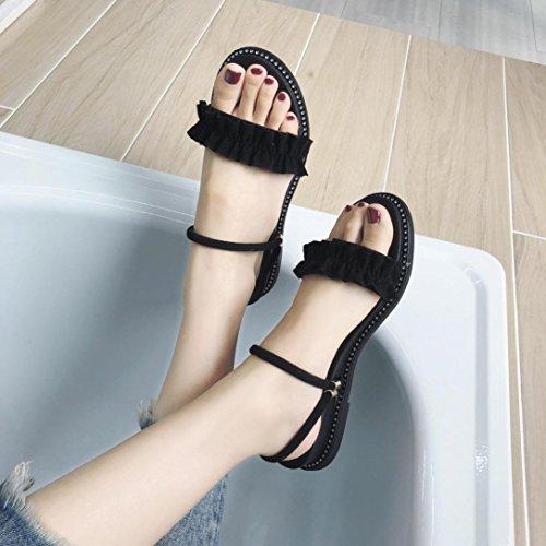Peep Sandali Donna Scarpe Eleganti Toe 7xfv4q6wn