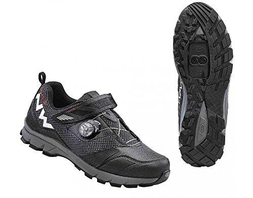 Zapatos Northwave MISSION PLUS bicicleta de montaña, negro, schuhgröße:gr. 46