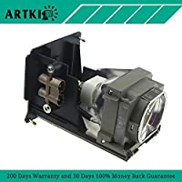 VLT-HC6800LP Replacement Lamp for Mitsubishi HC6800 HC6800U Projector (by Artki)