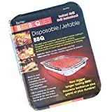 Better Barbeques Disposable Instant BBQ Grill - The Clean, Easy, Convenient Way to Perfect Outdoor Cooking in The Garden, on a Picnic Or Camping, All You Need is a Match!