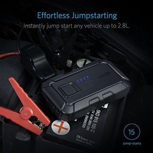 Anker PowerCore Auto Starthilfe mini 400A Spitzenstrom 12V 9000mAh ...