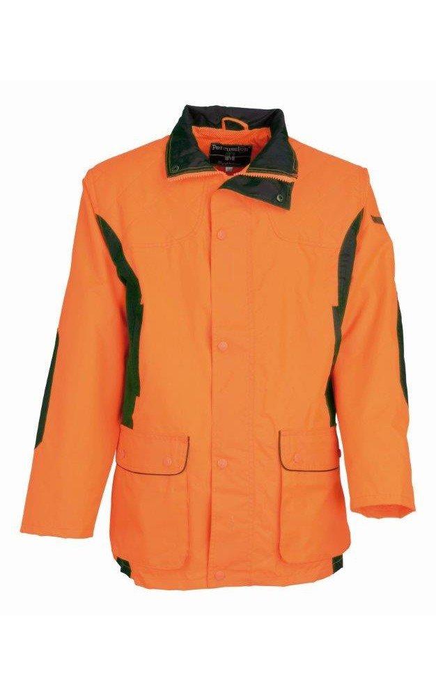 Orange S Veste de traque Percussion Renfort