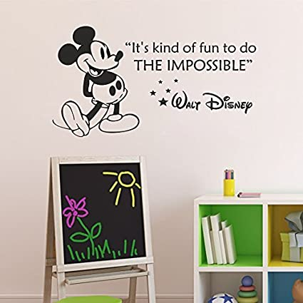 Baby Nursery Wall Decal Peter Rabbit Wall Sticker Vinyl Lettering Wall Art Quote Black,s