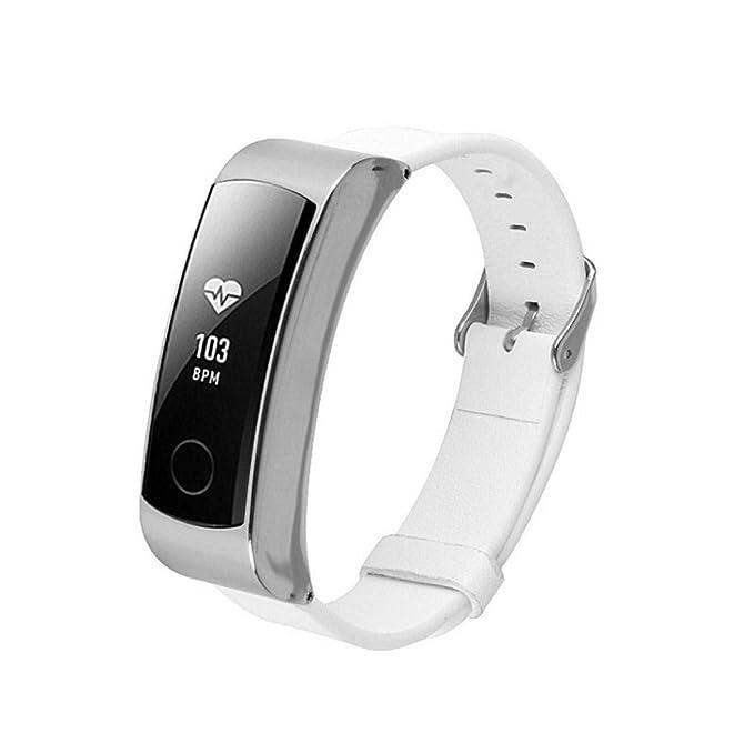 Bestow Huawei Honor Band 3 Pulsera de Banda de Cuero Accesorio Watchband Electronics Gadgets Reloj de