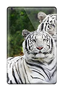 CNIuQlV8124bpuXT Tpu Case Skin Protector For Ipad Mini/mini 2 White Bengal Tiger With Nice Appearance