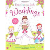 Weddings (First Colouring Book)