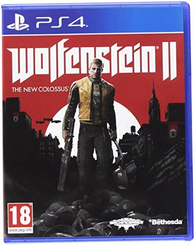 Wolfenstein II : The New Colossus - PlayStation 4 [Importación ...
