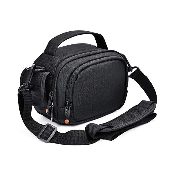 51zhXurhw7L. SS600  - FOSOTO Camera Camcorder Case Compatible for Canon VIXIA HF R800 R700,Sony HDR-CX405 CX675 CX670 SR12 FDRAX53,Panasonic…