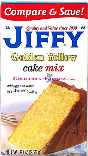 Jiffy Golden Yellow Cake Mix (Jiffy Yellow Cake Mix compare prices)