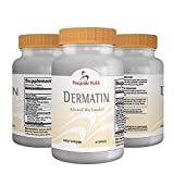 Dermatin: Skin Eczema and Dermatitis Supplement Pills. All Natural Vitamins Reduce Inflammation, Rash, and Itch. Supports Atopic, Seborrheic Types and Include Milk Thistle and Biocell Collagen.