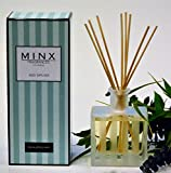 MINX Fragrances 48hr SALE! Stress Relief EUCALYPTUS MINT Scented Reed oil Diffuser Gift Set by Rosemary, Eucalyptus Leaves, Garden Mint & Citrus Notes | Great Gift Idea! USA Made