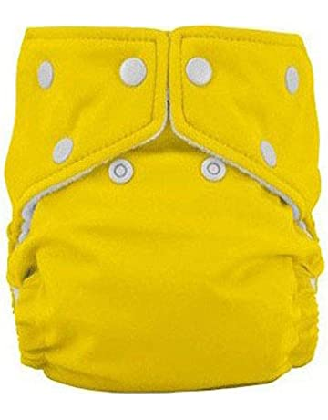 LUCKME Cloth diaper Reusable Nappy for 1-3 years old children waterproof washable adjustable diaper pants,A