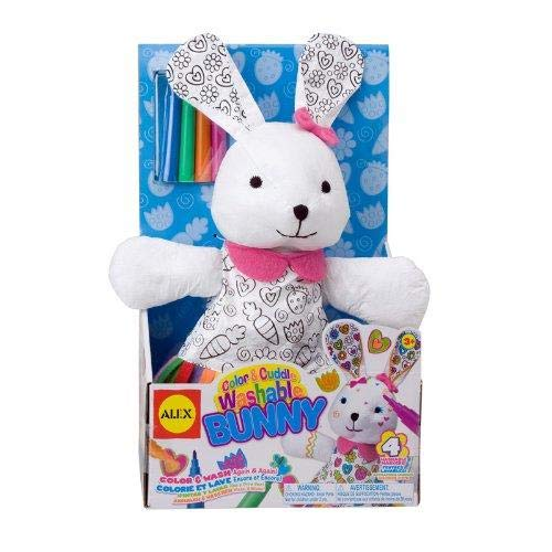 ALEX Toys Craft Color and Cuddle Washable Bunny]()